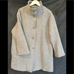 Winter wool coat